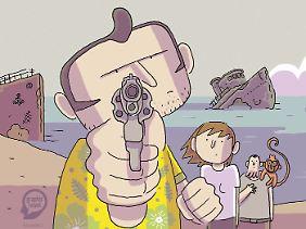 """""""Unterwegs mit Hector"""", Egmont Graphic Novel, 184 Seiten in Klappenbroschur, 14,99 Euro."""