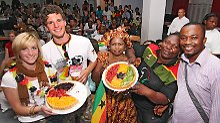 Foodball für Fans: Was Ghanas Jungs scharf macht