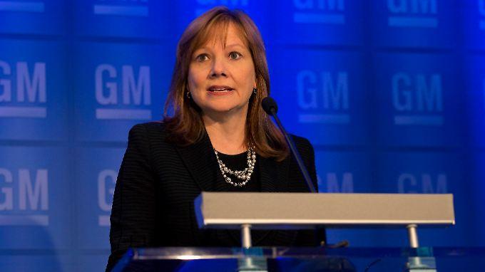 Wegen der Zündschloss-Affäre hat GM-Chefin Mary Barra nun auch noch eine Mega-Sammelklage am Hals.