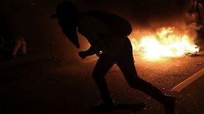 Ausschreitungen in Sao Paulo: Vermummte lösen Krawalle nach WM-Spiel aus