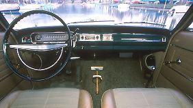 Für damalige Verhältnisse war der Opel Rekord ein durchaus luxuriöses Auto.