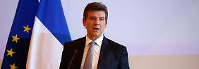 Wirtschaftsminister Montebourg will die Zügel bei Alstom in die Hand nehmen.