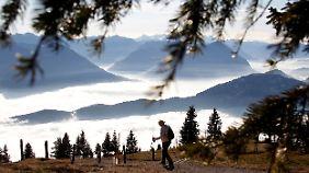 Die Schweizer Berge bieten Erholung und ein einzigartiges Panorama.