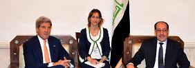 John Kerry reist nach Bagdad: Isis-Kämpfer rücken in syrische Gebiete vor
