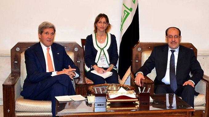 John Kerry reist nach Jordanien: Isis-Kämpfer rücken vor ins Grenzgebiet