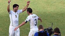 Wer sich zu früh freut, ...: Auf Suárez' Biss folgt Italiens Untergang