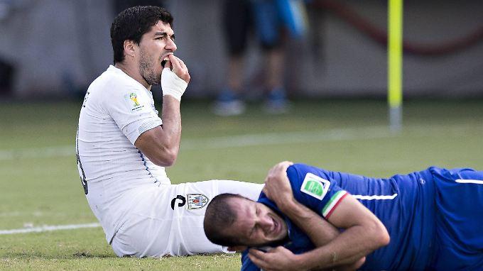 Des Beißers Sperre ist abgelaufen: Luis Suarez darf wieder für Uruguay stürmen.
