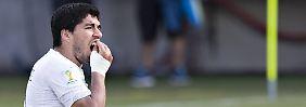 """Beißattacke hat Folgen: Fifa ermittelt gegen """"Kannibalen"""" Suárez"""