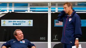 WM-Spiel USA - Deutschland: US-Elf profitiert von deutschen Spielern und Know-how