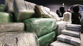 Beschlagnahmte Drogen im US-Staat Georgia.