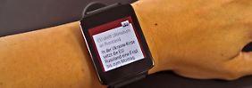 Okay Google, Android Wear ist gut: LG G Watch ausprobiert