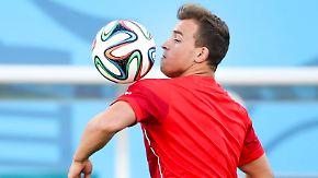"""Zauberzwerg aus der Schweiz: """"Alpen-Messi"""" Shaqiri soll Argentinien zähmen"""