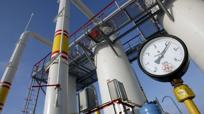 Ein Drittel des in Europa verbrauchten Gases stammt aus Russland.