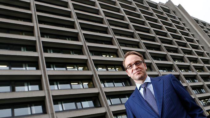 Bundesbankpräsident Jens Weidmann.