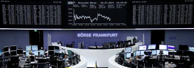 """Der Dax am """"Independence Day"""": Die Aufmerksamkeit der Anleger richtet sich nach Brasilien."""