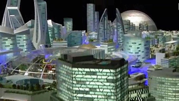 """Gigantisches """"Mall of the world"""": Dubai baut größten Konsumtempel der Welt"""