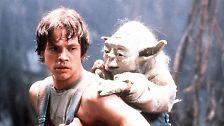 Immerhin sind alle Stars vertreten: Luke Skywalker und Prinzessin Leia, Han Solo und Chewbacca, C-3PO und R2-D2, Darth Vader und erstmals Yoda. Was will man mehr?
