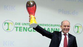 Konzernchef Karl-Ervian Haub erfreut sich derzeit vor allem an Kik und Obi.