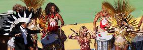 WM-Abschlussfeier ohne Debakel: Brasilien verabschiedet sich tänzerisch