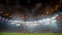 Das Maracanã-Stadion am WM-Abend 2014.
