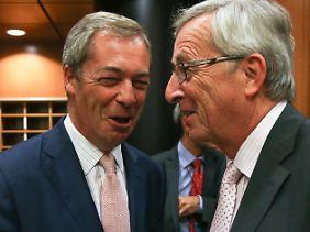 ... wie von Nigel Farage.