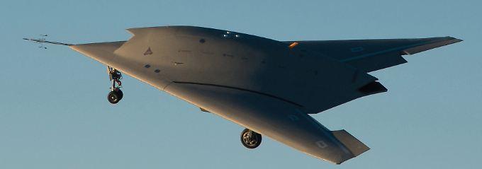 """Projekt """"Neuron"""": Dassault kann bereits einen flugfähigen Stealth-Prototypen vorweisen (Archivbild)."""