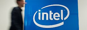 Neue Chips für Alltagsgeräte: Intel profitiert von Erholung am PC-Markt