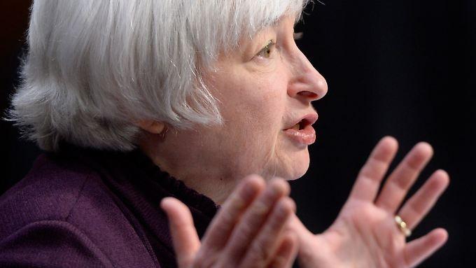 Fed-Chefin Janet Yellen: Ihren Worten lauschen die Marktteilnehmer ganz genau.