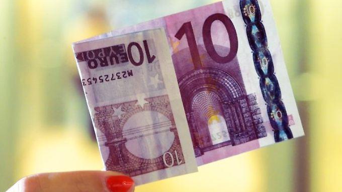 331.000 falsche Scheine sind in der Eurozone sichergestellt worden.