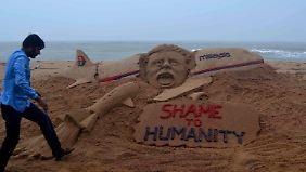 Weltweit gibt es Reaktionen auf den Flugzeugabschuss.