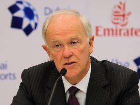 """""""Dann sollten wir es gar nicht mehr fliegen lassen"""": Tim Clark, Präsident der Fluggesellschaft Emirates."""
