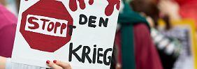 """Antisemitische Parolen auf deutschen Straßen: """"Das dürfen wir nicht hinnehmen"""""""