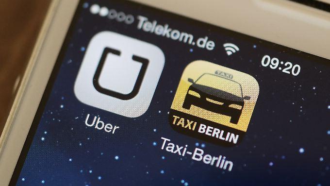 Besonders der Dienst UberPOP, bei dem private Fahrer vermittelt werden, steht im Fokus der Behörden.