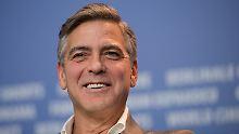 Clooney hat offenbar einen vollen Drehplan - den Fans kann das nur Recht sein.