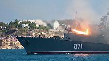 Mega-Parade auf der Krim: Russland protzt mit seiner Flotte