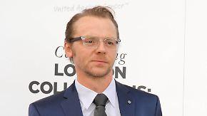 Promi-News des Tages: Simon Pegg will seine Ehe nicht aufs Spiel setzen