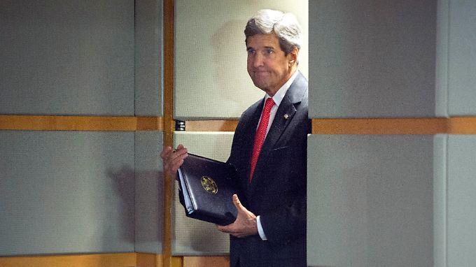 John Kerry gelingt in letzter Zeit fast nichts.
