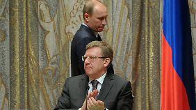 Putin mit Ex-Finanzminister Kudrin