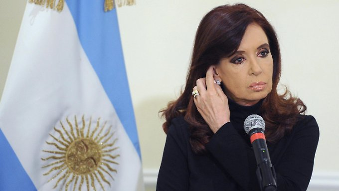 Argentiniens Präsidentin Cristina Kirchner bestreitet die Zahlungsunfähigkeit ihres Landes.