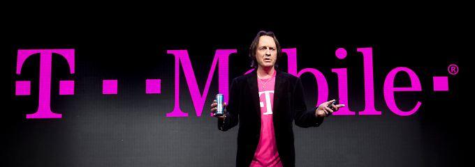 """John Legere, Tausendsassa im Magenta-Shirt: """"Wir sind stolz, der am schnellste wachsende Mobilfunkanbieter in Amerika zu sein."""""""