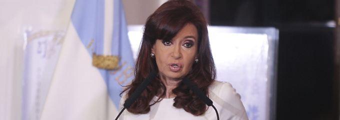Argentiniens Präsidentin Cristina Kirchner will im Streit mit den Hedgefonds alle Rechtsmittel ausschöpfen.