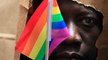"""Ugandas Regelung """"nichtig"""": Gericht kippt Anti-Homosexuellen-Gesetz"""