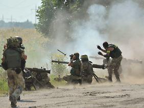 Die ukrainische Armee hat Lugansk abgeschnitten.