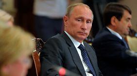 Putin schlägt zurück: Russland verhängt Einfuhrverbote gegen Sanktionsländer