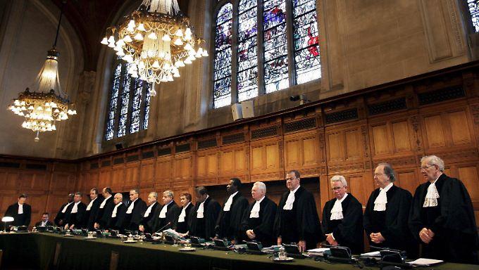 Der Internationale Gerichtshof in Den Haag bestätigte den Eingang der Klage Argentiniens.