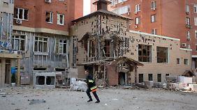 Russische Soldaten stehen bereit: Kämpfe nähern sich dem Zentrum von Donezk