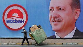 """""""Alles wird noch besser werden"""": Bewohner von Kasimpasa sind stolz auf Erdogan"""