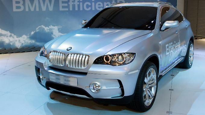 BMW X6 Concept Car: In China verkaufen sich die Modelle der deutschen Premiumhersteller blendend. Das gefällt den Behörden des Landes nicht.