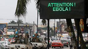 Guinea reißt Elendsviertel ab: Arme verlieren Existenz durch Ebola-Bekämpfung
