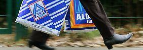 Phänomene des deutschen Discounter-Geschöfts: Nur ein Bruchteil der Aldi-Kunden besucht zwei verschiedene Filialen an einem Tag.